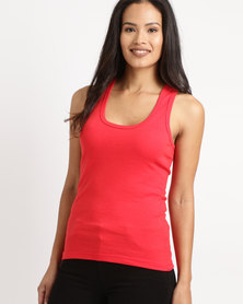 Ultimate T Racerback Vest Red