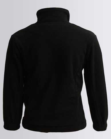 Highland Brook Quarter Zip Fleece Sweats Black