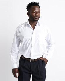 Oakhurst Icon Woven Long Sleeve Shirt Light White