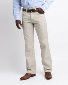 Oakhurst 5 Pocket Chinos Sand