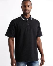 Tee & Cotton Epic Golfer Black