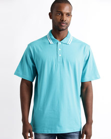 Tee & Cotton Epic Golfer Turquoise