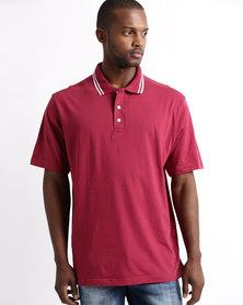 Tee & Cotton Epic Golfer Maroon