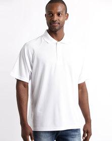 Tee & Cotton Classic Sport Polo White