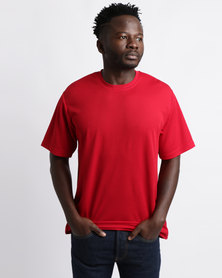 Ultimate T Classic Sports T-Shirt Red
