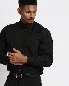 Vangard Cameron Plain Shirt Black
