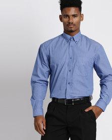Vangard Cameron Stripe Shirt Blue