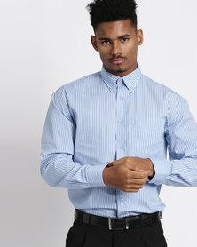 Vangard Cameron Stripe Shirt Light Blue
