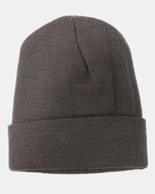 Cap Addiction Knitted Beanie Charcoal