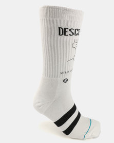 Stance Milo Goes To College Socks White