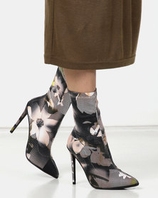 Dolce Vita Couture Mid Calf Boots Beige