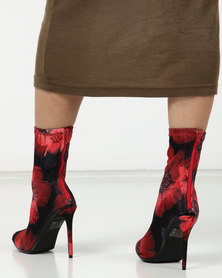 Dolce Vita Couture Mid Calf Red