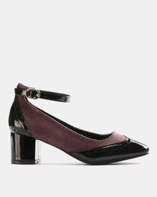 Dolce Vita Frankfurt Heels Black/Burgundy