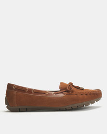 Dolce Vita Tunis-505 Leather Flats Tan