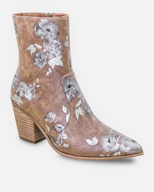 Jeffrey Campbell Ace Tan Rose Vegan