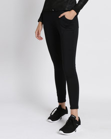 Fifth Element Majorca Loose Fit Leggings Black