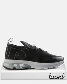 Nike Air Max Flair 50 Sneakers Black & Metallic Silver