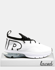 Nike Air Max Flair 50 Sneakers White/Black Metallic Silver