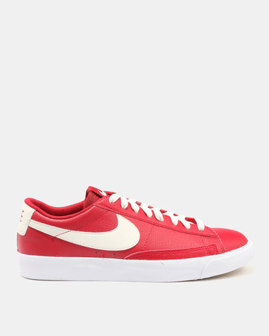 big sale 4bcdc 3cd86 Nike Blazer Low Leather Gym Red/Sail-Sail-Gum Medium Brown