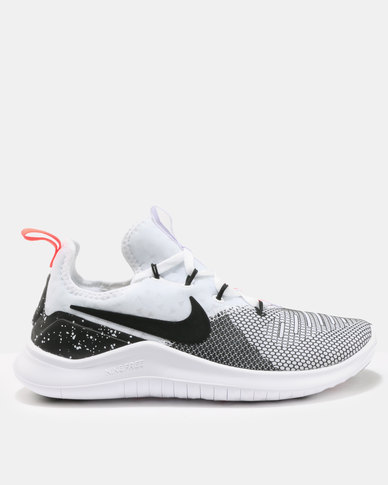 brand new df450 436ee Nike Performance Womens Nike Free TR 8 White Black Total Crimson   Zando
