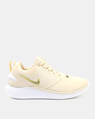 3fefd4038469 Nike Performance Womens Nike LunarSolo Light Cream TLC Gold Star