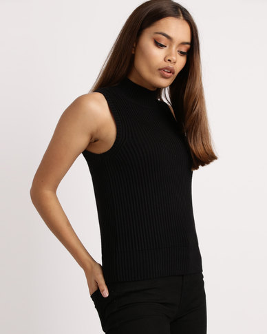 Utopia Turtleneck Pullover Black