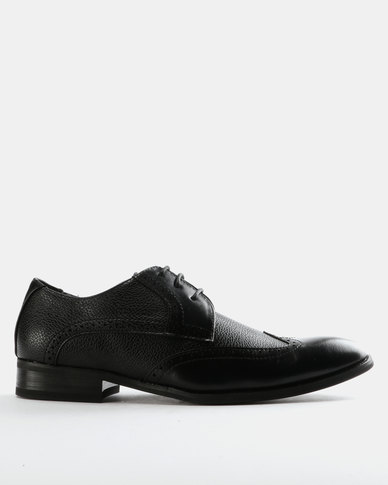 FRANCO CECCATO LACE UP WITH BROUGE DETAIL