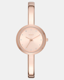 DKNY Murray Watch Rose Gold-plated