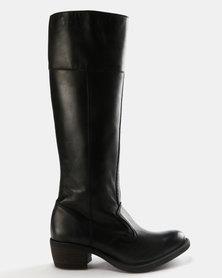 Tsonga Kuthangi Knee High Boots Black Impala