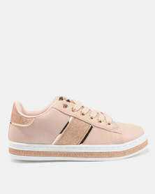 AWOL Shimmer Sneakers Pink