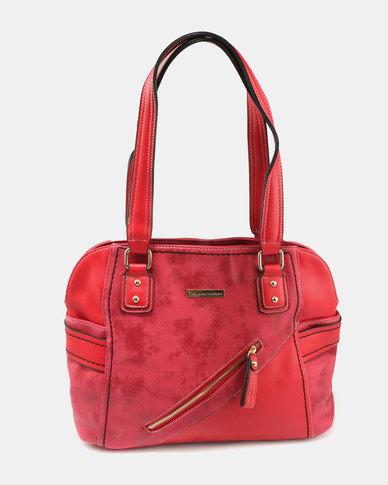 Blackcherry Bag Hand Bag Deep Red