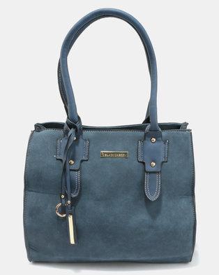 Blackcherry Bag Smart Hand Bag Blue