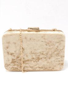 Blackcherry Bag Clutch Bag Gold