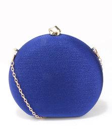 Blackcherry Bag Round Clutch Bag Blue
