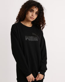 Puma Essential No.1 Crew Sweat TR W Black