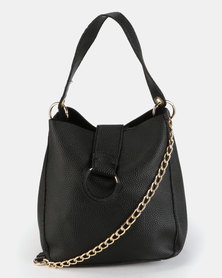 Utopia 2pc Handbag Set Black