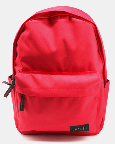Unseen Backpack Red