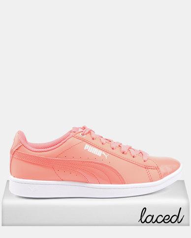Puma Puma Vikky Bloc Sneakers Shell Pink/Shell Pink brand new unisex 682u1s5gp