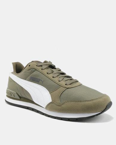b69dce55856 Puma ST Runner v2 NL Sneakers Burnt Olive/White | Zando