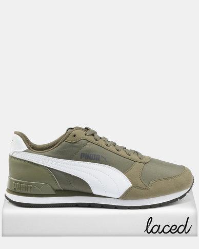 Puma Puma ST Runner v2 NL Sneakers Burnt Olive/White huge surprise clearance dvKOCrZ
