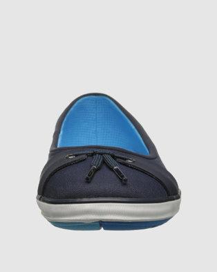 Helly Hansen W Malin Slip Ons Navy Blue