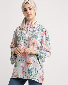 Shop.Style.Snap Eid Collection Top Pastel Floral