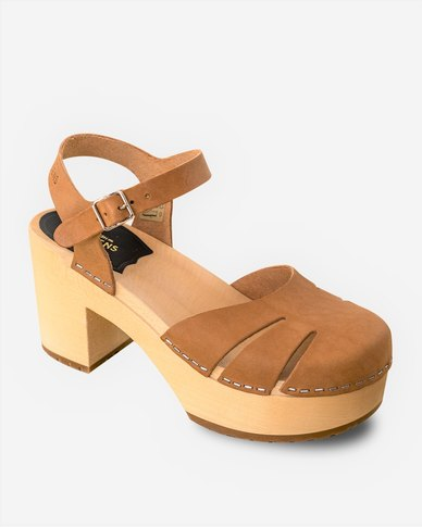 buy cheap with paypal amazon online Swedish Hasbeen Swedish Hasbeens Baskemolla Heeled Sandals Nature Neutral free shipping new arrival MBw99O