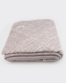 Haven and Earth Amanda Cotton Sandstorm Throw Pink