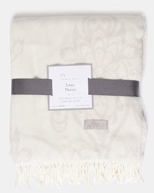 Haven and Earth Lana Tunisa Wild Throw Neutral