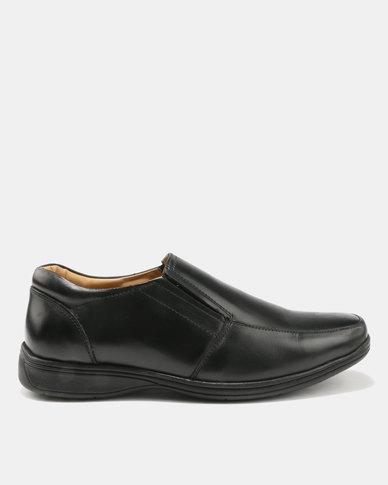 Step On Airs Branson Slip On Black