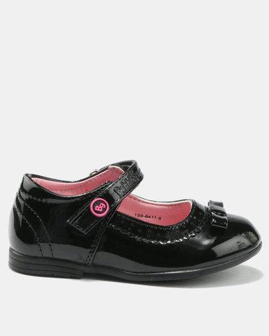 7047e4ea2250 Bubblegummers Girls Casual Pumps Black