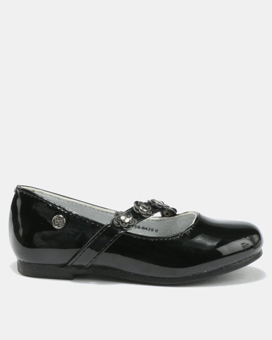 Bubblegummers Girls Casual Pumps Black