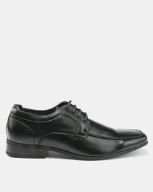 Bata Men's Dress Lace-Up Closed Shoes Black
