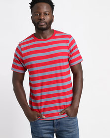 Scrubber Scrubs Short Sleeve Red